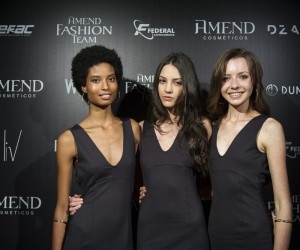 Liza Silva, Sara Poletto e Giselle Pscheidt. Foto: Zeca Santos