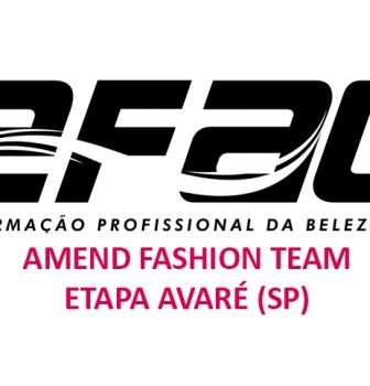 Avaré abre inscrições e realiza seletiva para o Amend Fashion Team