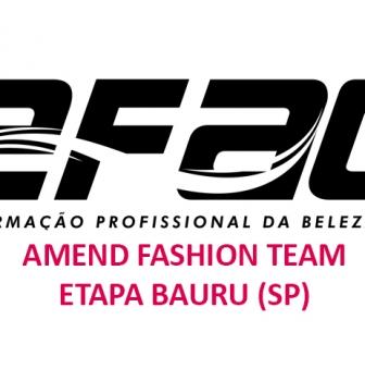 Bauru abre inscrições e realiza seletiva para o Amend Fashion Team