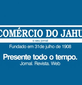 Matéria no Jornal e Site Comercio do Jahu