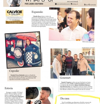 Notícia no Jornal Diário Catarinense: DA CASA