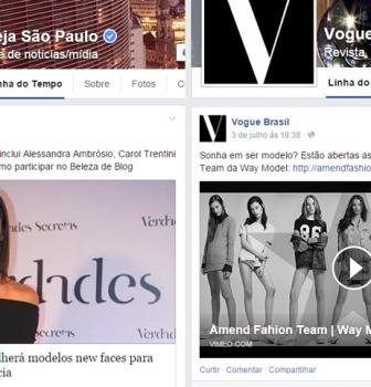 Concurso Amend Fashion Team no Facebook